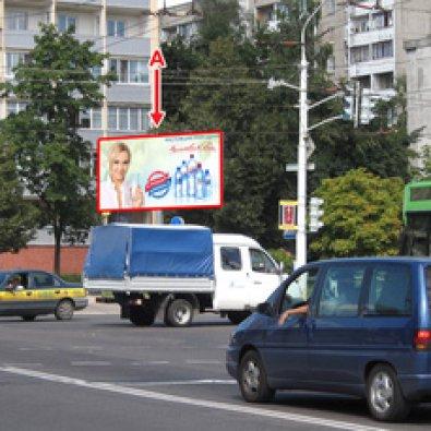 Сторона А - Минск, Одоевского ул., на пересечении с ул. Бельского