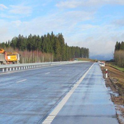 Сторона А - МКАД-2, М-14, вторая кольцевая автомобильная дорога 30+500 (лево)